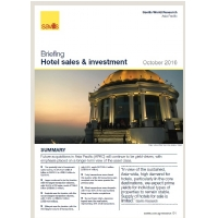 Asia Pacific Hotel sales & investment Briefings - Autumn 2016