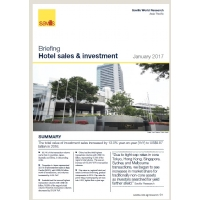 Asia Pacific Hotel sales & investment Briefings - Winter 2016