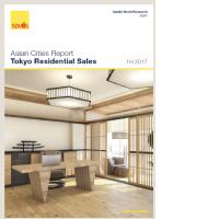 Tokyo Residential Sales - 1H 2017