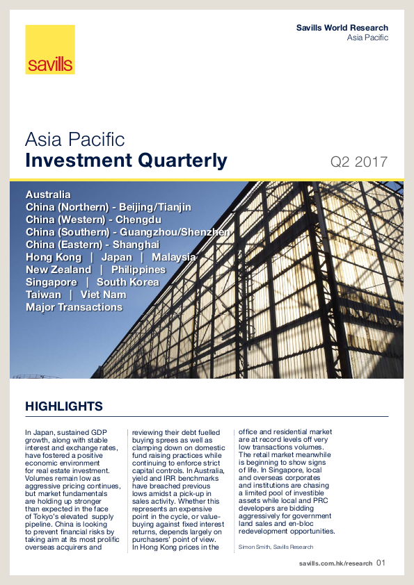 Asia Pacific Investment Quarterly - Q2 2017