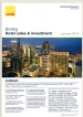 Hotel Sales & Investment Briefing Q4, 2013