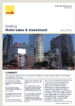 Hotel Sales & Investment Briefing Q2, 2013