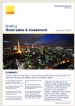 Hotel Sales & Investment Briefing Q4, 2012