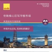 倫敦核心區寫字樓市場-英國脫歐專題簡報