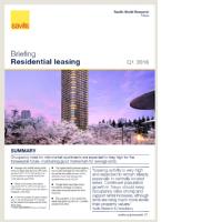 Tokyo Residential Leasing Briefing - Q1 2016