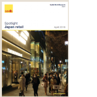 Japan Retail - April 2016