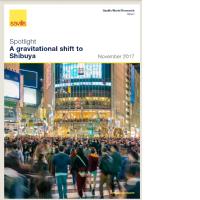 渋谷における大規模再開発と展望 2017年11月