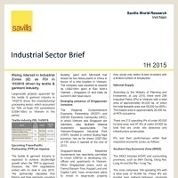 Industrial Sector Briefing (English) H1/2015