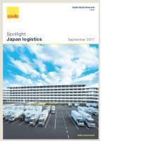 Japan Logistics Spotlight - September 2017