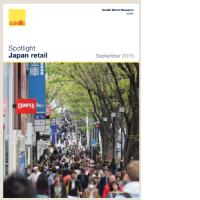 Japan Retail - September 2015