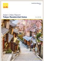 Tokyo Residential Sales - 1H 2018