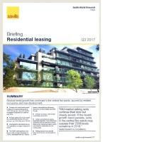 Tokyo Residential Leasing Briefing - Q3 2017