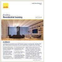 Tokyo Residential Leasing Briefing - Q3 2016