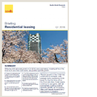 東京住宅 - Q1 2018