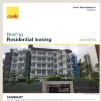 Singapore Residential Leasing Briefing Q1 2016