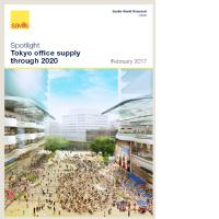 東京オフィス供給-2020年までの展望